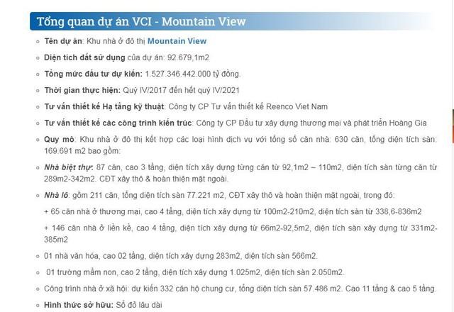 """Vĩnh Phúc: Khách hàng nên thận trọng khi """"mua nhà trên giấy"""" tại dự án VCI Mountain View"""