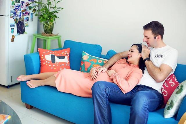 Lan Phương khóc nức nở vì phải đẻ mổ do thai nhi ngôi ngược, tiết lộ ngày sinh con đầu lòng
