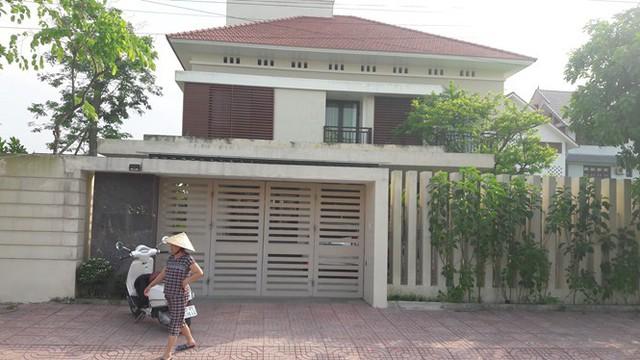 Ngôi nhà chị Q., nơi xảy ra sự việc. Ảnh Phạm Đức