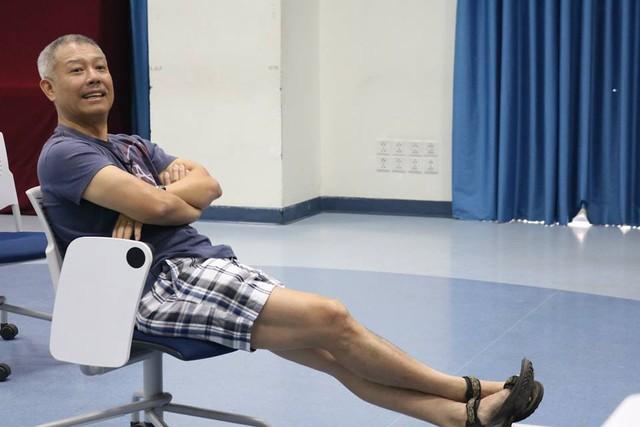 GS Trương Nguyện Thành khá nổi tiếng tại Mỹ, ông có biệt danh Giáo sư quần đùi khi giảng dạy ở Việt Nam. Ảnh: TL