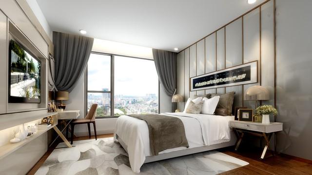 thiết kế căn hộ được tối ưu hoá không gian và đa dạng về diện tích