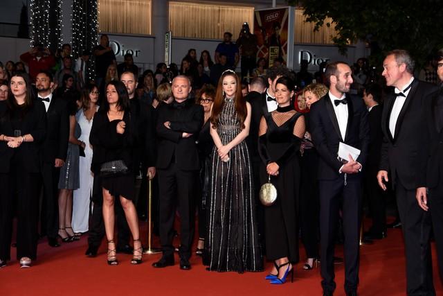 Ê-kíp Angel Face được quan tâm tại Cannes