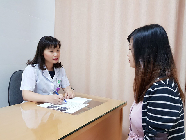 BS Thanh khuyên chị em cần khám định kỳ để tầm soát ung thư cổ tử cung. Ảnh TG