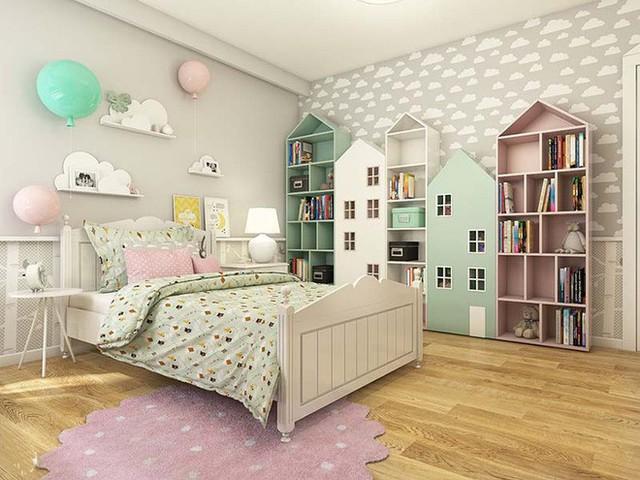 Việc sử dụng nhiều gam màu tươi sáng không chỉ khiến căn phòng trông sinh động hơn mà còn ảnh hưởng trực tiếp đến việc hình thành tính cách và sự sáng tạo của trẻ.