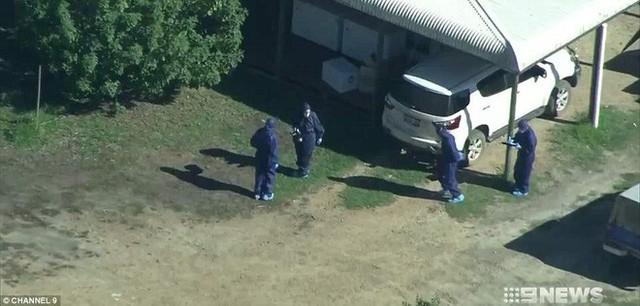 Cảnh sát có mặt tại hiện trường để điều tra vụ việc. (Ảnh: 9news)