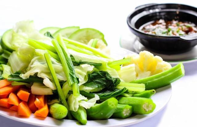 Vào mùa hè các món rau xanh được mọi người đặc biệt yêu thích