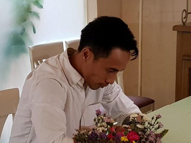 Phạm Anh Khoa tại buổi họp báo chiều nay.
