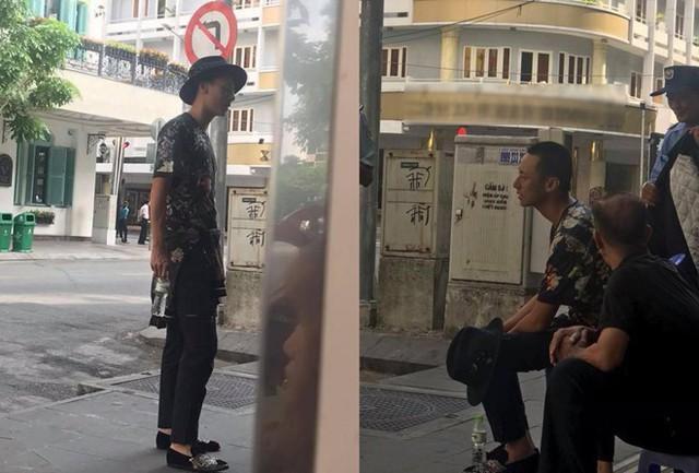 Hình ảnh hốc hác, gây sốc của Rocker Nguyễn. Ảnh: Chụp từ màn hình.