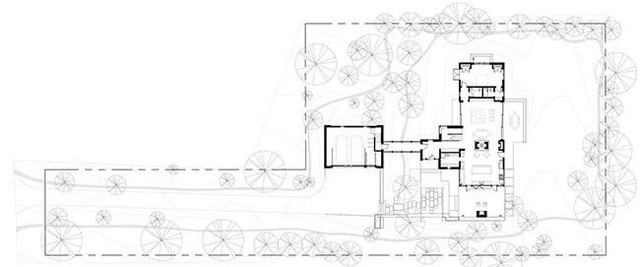 Bản thiết kế chi tiết toàn bộ ngôi nhà và khuôn viên.