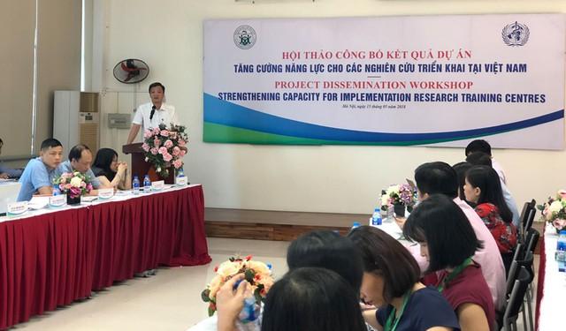 TS Nguyễn Minh Lợi, Phó Cục trưởng Cục Khoa học Công nghệ và Đào tạo Bộ Y tế