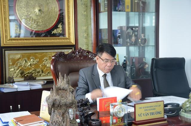 Ông Vũ Văn Trường – CTHĐQT – TGĐ Công ty CP Đầu tư Xây dựng Thiên Lộc