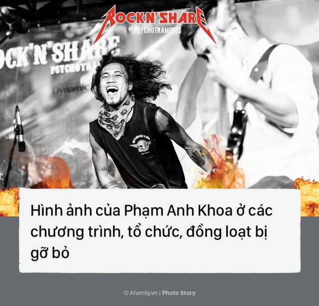 Một loạt các chương trình, gameshow... đồng loạt gỡ bỏ hình ảnh của Phạm Anh Khoa trong chiến dịch tẩy chay kẻ gạ tình.