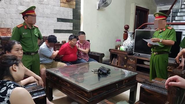 Cơ quan điều tra bắt giữ Vòong (ảnh tư liệu)