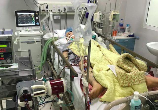 Sau 2 ngày nỗ lực cấp cứu, hồi sức, trái tim bệnh nhân L đã đập trở lại..