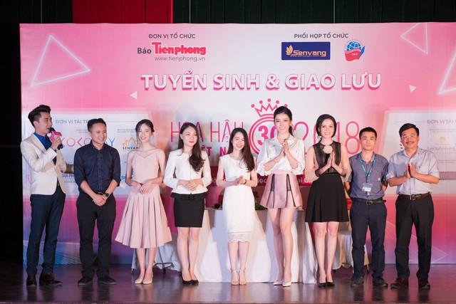 Chương trình nằm trong chuỗi hành trình tuyển sinh và đi tìm người kế nhiệm Hoa hậu Việt Nam