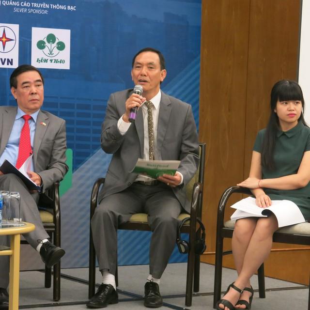 Ông Lê Nguyên Hòa, Phó chủ tịch HĐQT Công ty CP NutiFood chia sẻ về kinh nghiệm xây dựng năng lực đáp ứng tiêu chuẩn cao về an toàn thực phẩm của Mỹ