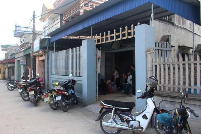 Ngôi nhà sinh sống của sản phụ S. tại xã Hưng Thái. Ảnh: Đ.Tùy