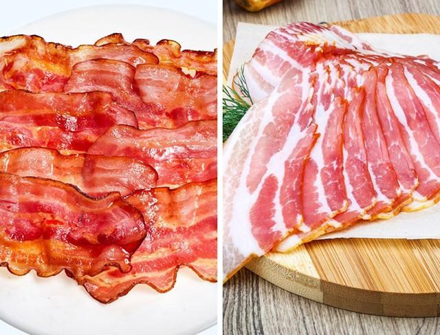 Thịt hun khói khi đã làm nóng và trở nên cứng hơn thì bạn nên cắt nó bằng dao. Còn khi thịt vẫn đang mềm thì bạn có thể ăn với dĩa và dao.