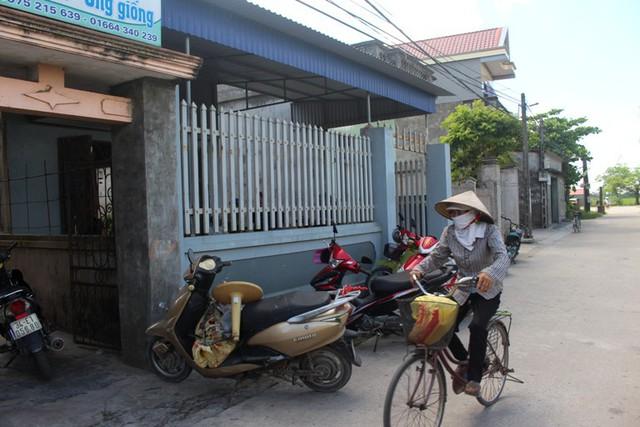 Ngôi nhà chị S. cùng gia đình sinh sống tại xã Hưng Thái, huyện Ninh Giang. Ảnh: Đ.Tùy