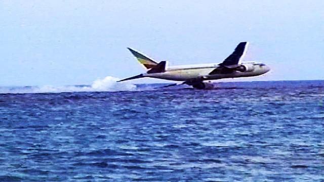 Hình ảnh cuối cùng của chiếc máy bay xấu số