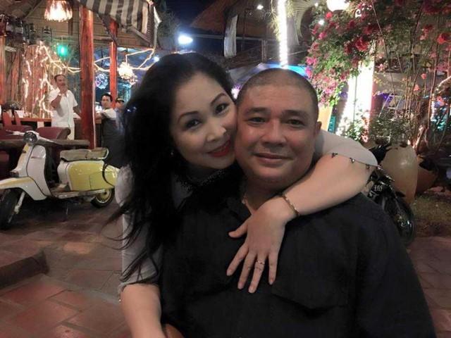 NSND Hồng Vân và Lê Tuấn Anh đang có cuộc sống hôn nhân hạnh phúc.
