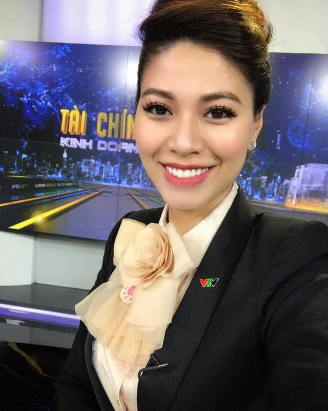 Nữ BTV tài chính xinh đẹp của VTV.