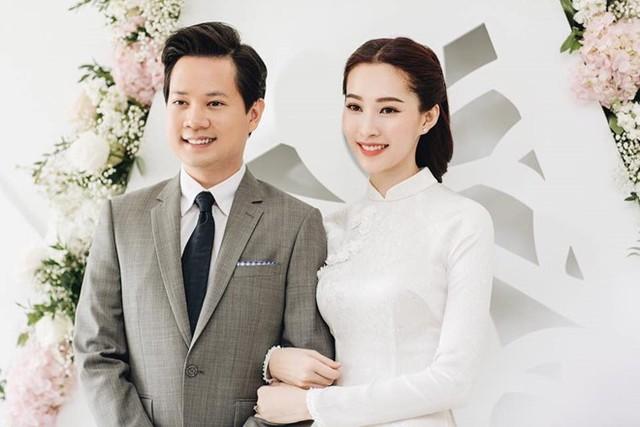 Đặng Thu Thảo và chồng có 3 năm hẹn hò trước khi cưới.