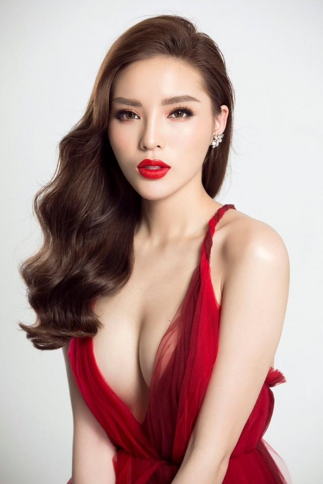 Hoa hậu Kỳ Duyên với hình ảnh gợi cảm. Ảnh: TL