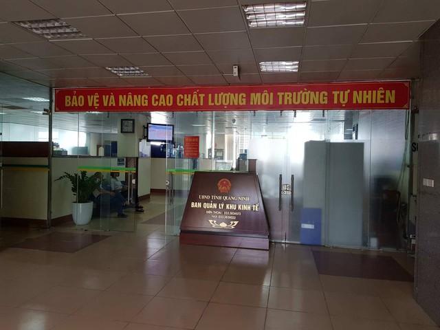 BQL khu kinh tế Quảng Ninh được cho là gây khó dễ trong việc cấp Giấy chứng nhận đầu tư cho dự án. (ảnh: HC)