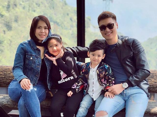 Gia đình hạnh phúc của nam diễn viên Cả một đời ân oán.
