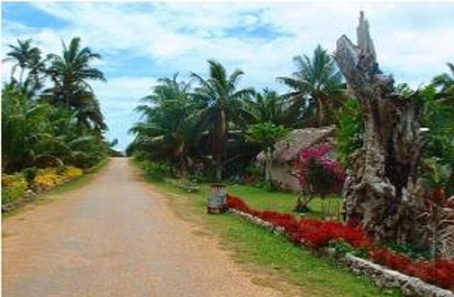 Ảnh chụp tại làng Oneroa của đỏa Mangaia