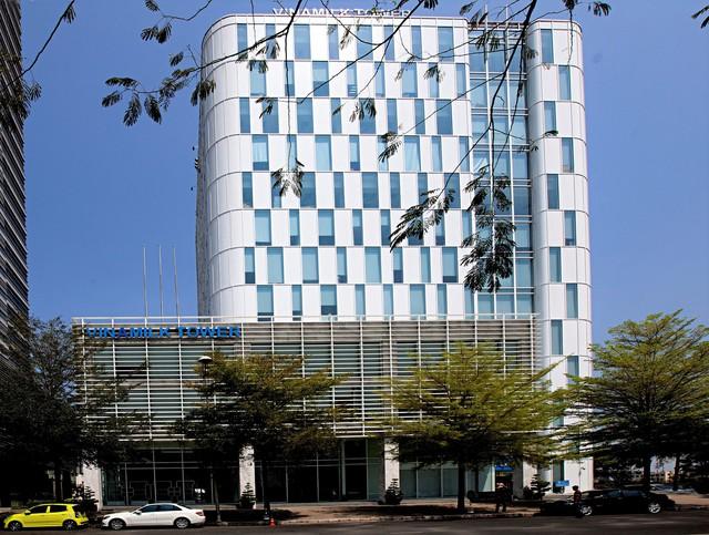 Trụ sở chính công ty Vinamilk tại Tp.HCM.