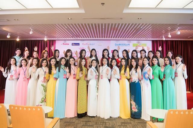 Đông đảo thí sinh có mặt tại Sơ khảo HHVN 2018