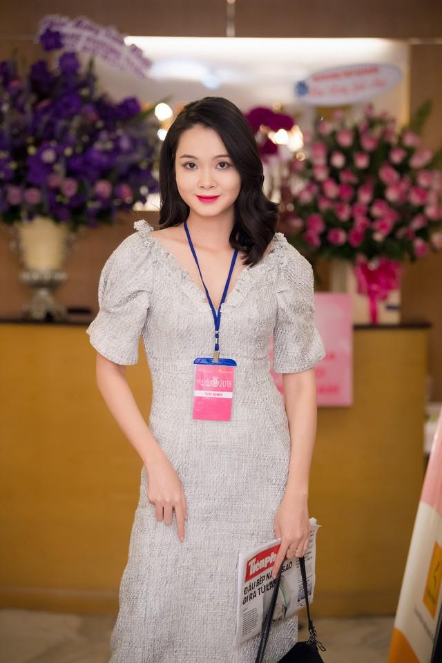 Thí sinh Nguyễn Thuỳ An đến từ Tiền Giang. Năm nay có rất nhiều người đẹp Tiền Giang tham gia Sơ khảo