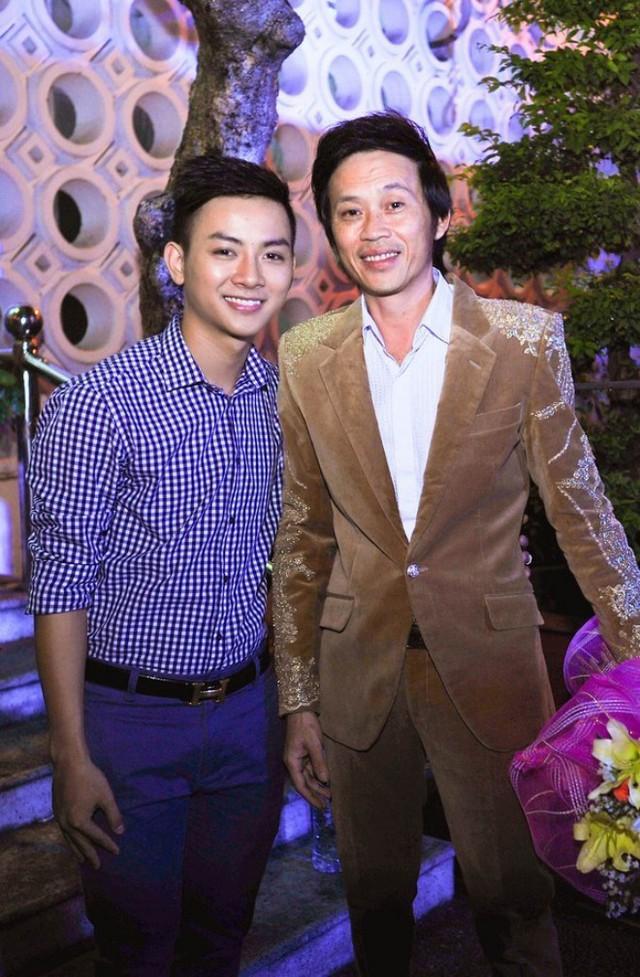 Cha con Hoài Linh - Hoài Lâm khi còn thân thiết.