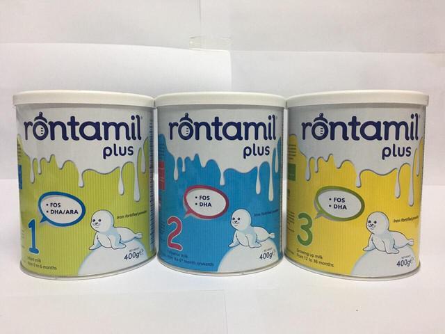 Rontamil Plus là sản phẩm sữa có chất lượng vượt trội với nhiều sản phẩm khác