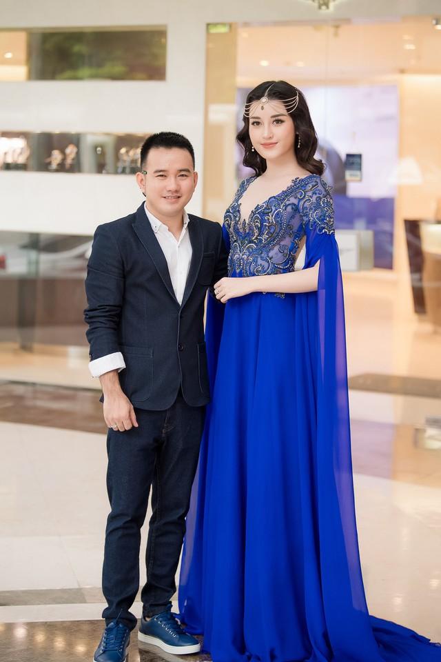 Á hậu Huyền My và NTK Lê Thanh Hòa
