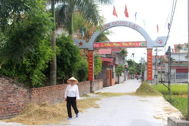 Khu vực dẫn vào nơi gia đình đối tượng sinh sống tại thôn Cam Lộ, xã Tân Việt, huyện Thanh Hà. Ảnh: Đ.Tùy