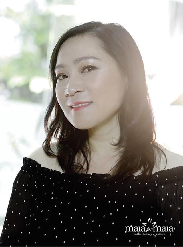 Biên kịch Kim Ngân.     Ảnh: TL