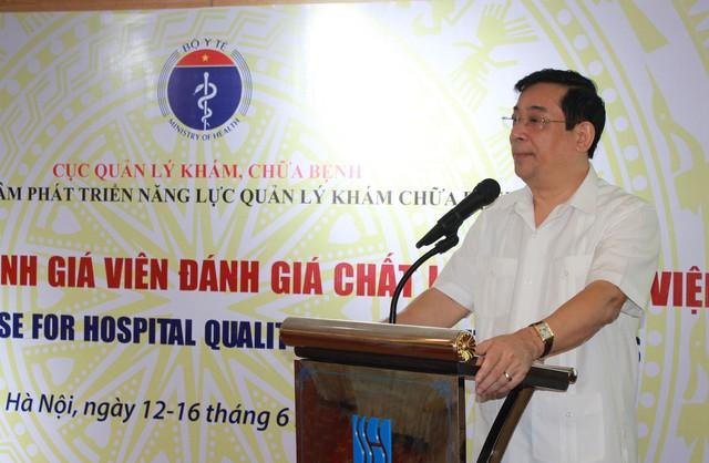 PGS.TS Lương Ngọc Khuê, Cục trưởng Cục quản lý Khám chữa bệnh