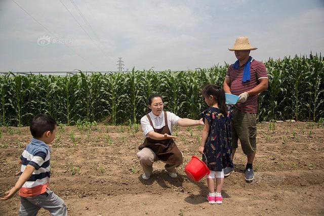 Các chủ nhật, cô gái lại dẫn các em đến các trang trại, giảng dạy về giun đất, về các động vật, về hạt giống và quá trình trồng cây.