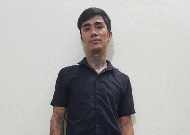 Đối tượng Tuân bị bắt giữ tại Cơ quan CSĐT. Ảnh: M.X