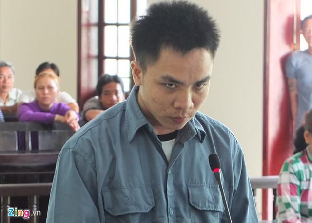 Bị cáo tại phiên toà. Ảnh: M.A.