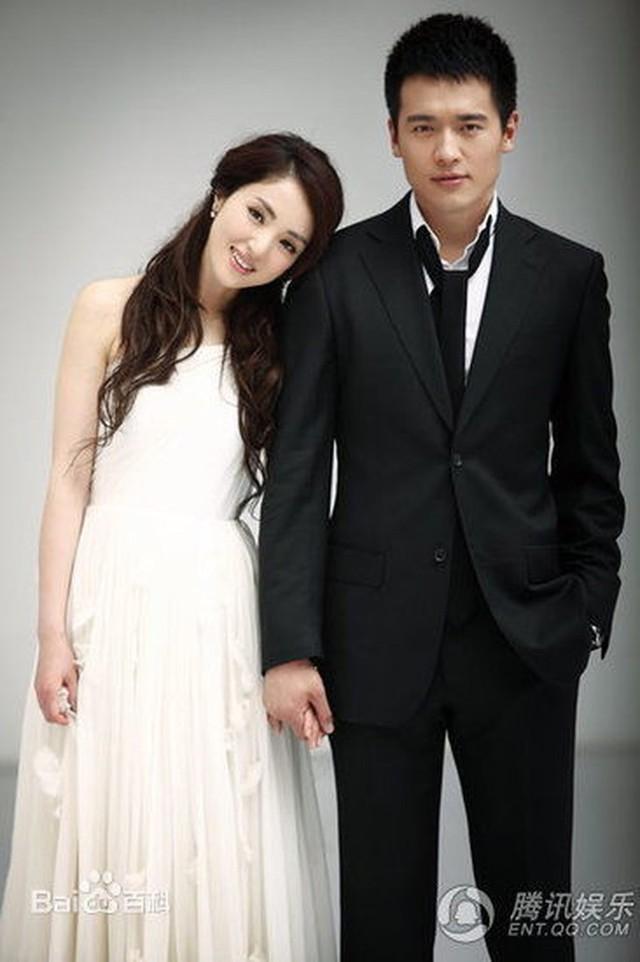 Cao Vân Tường và vợ, nữ diễn viên Đổng Tuyền.