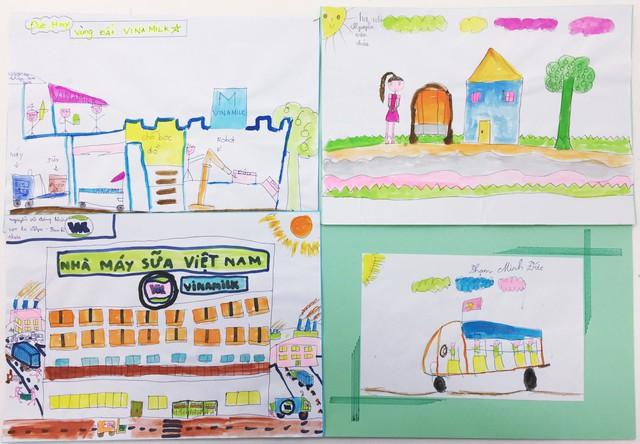 Hình ảnh về Nhà máy sữa Việt Nam qua nét vẻ trẻ thơ