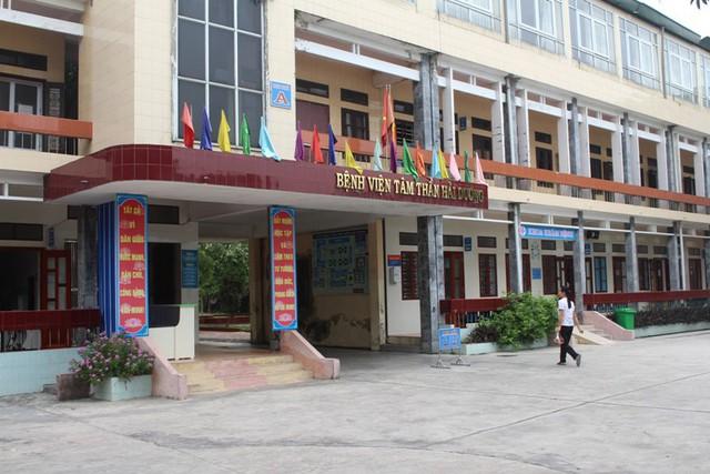 Bệnh viện Tâm thần tỉnh Hải Dương, nơi nữ bệnh nhân mất tích. Ảnh: Đ.Tùy