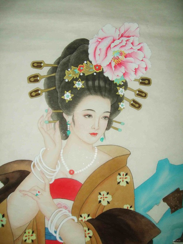 Dương Quý Phi ăn vải để giữ gìn nhan sắc.
