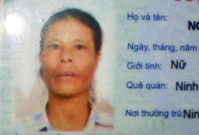 Nữ bệnh nhân Nguyễn Thị Tôi. Ảnh: Đ.Tùy