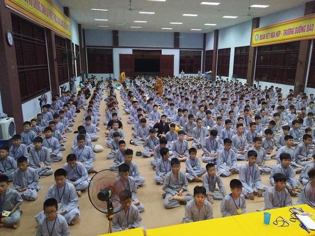 Khóa tu mùa hè được tổ chức tại Thiền viện Trúc Lâm. Ảnh: T.G