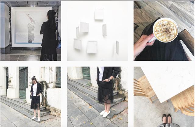 Instagram của Tú Anh khá chất